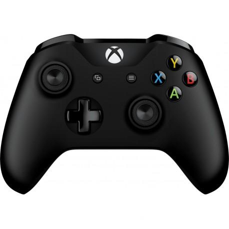 Microsoft Xbox One S Wireless Controller, černý (model 1708, 6CL-00002)