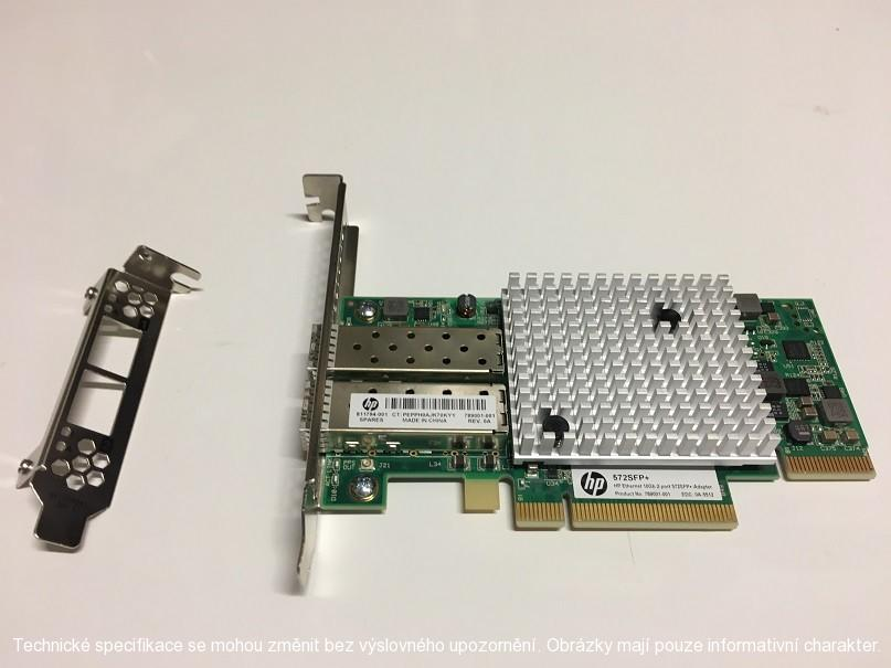 HP ENTERPRISE - HP Ethernet 10Gb 2-port 572SFP+ Adptr (789003-B21)