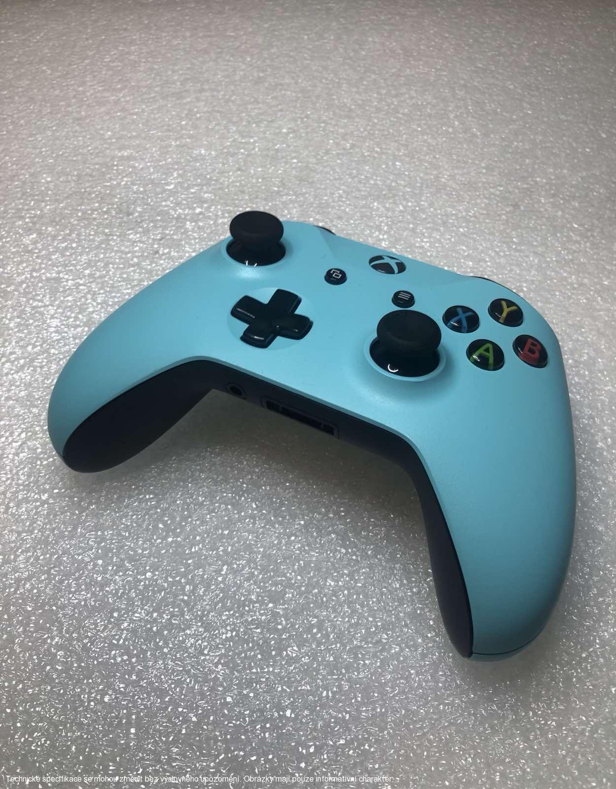 Microsoft Xbox One S Wireless Controller - Custom Turquoise/Black **POUŽITÝ**