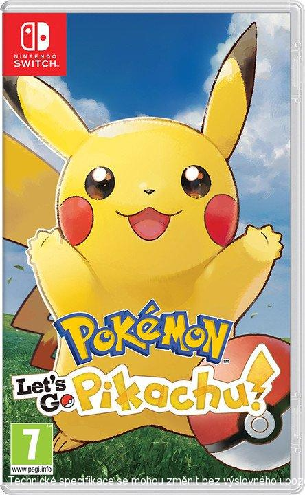 Pokémon: Let's Go, Pikachu! (SWITCH)  045496423155