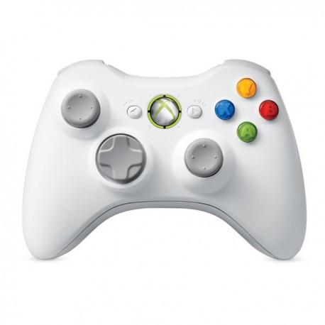 Microsoft Xbox 360 Wireless Controller - White NSF-00013