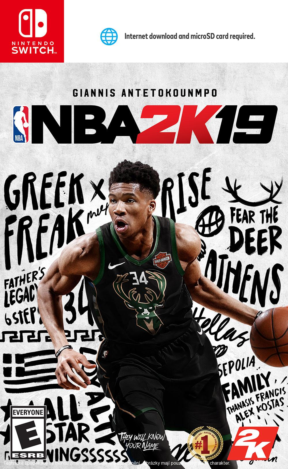 NBA 2K19 (SWITCH)