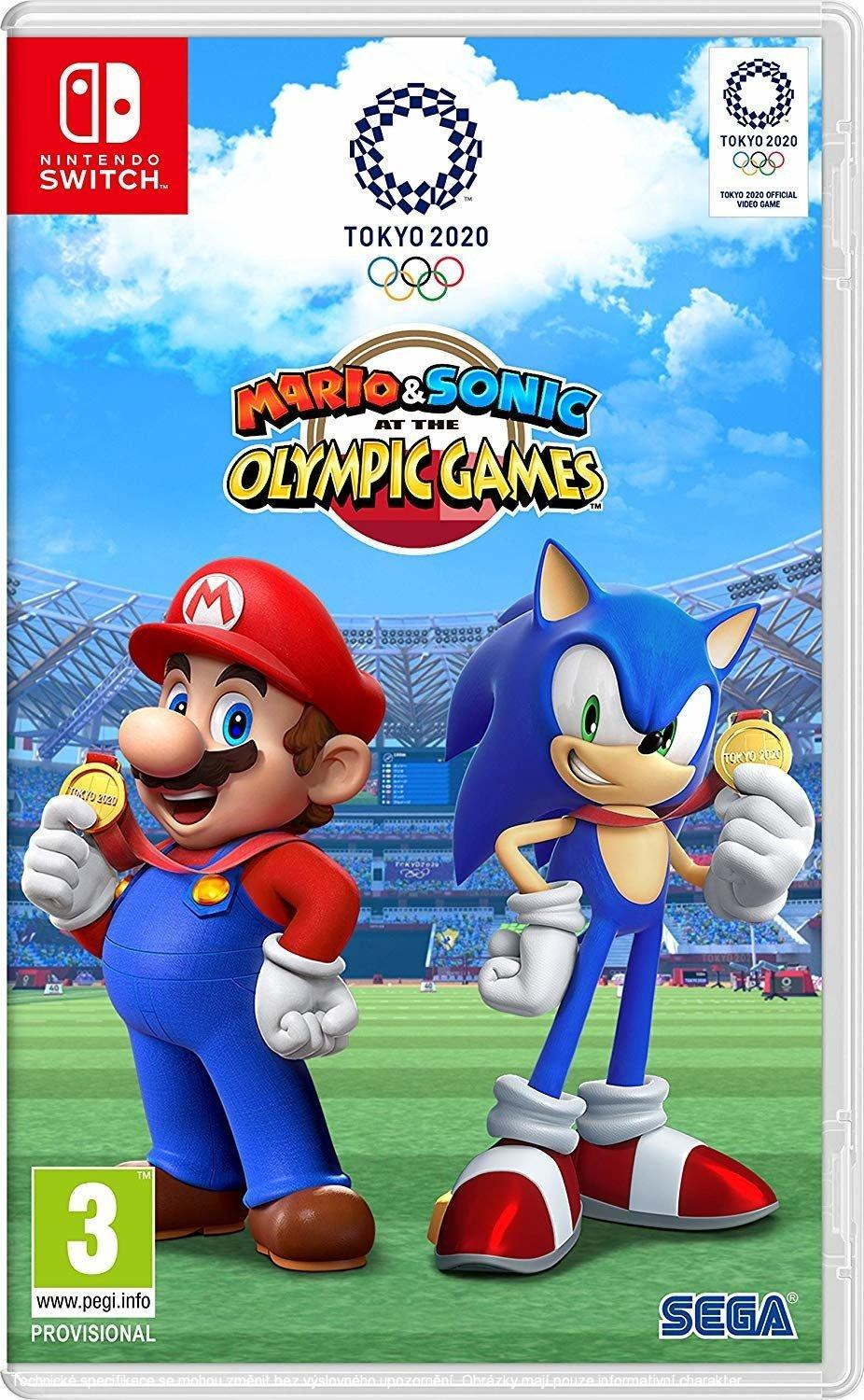 Mario & Sonic at the Olympic Games Tokyo 2020 (SWITCH)  045496424916