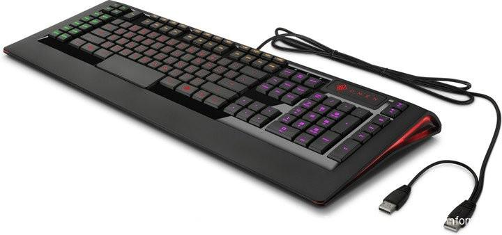 HP Omen Keyboard by SteelSeries, UK  X7Z97AA#ABB