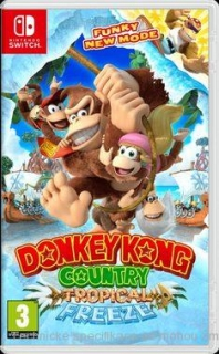 Donkey Kong Country Freeze SWITCH